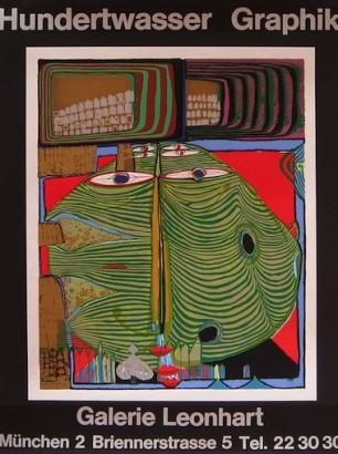 Hundertwasser,83x64,3, prezzo 150